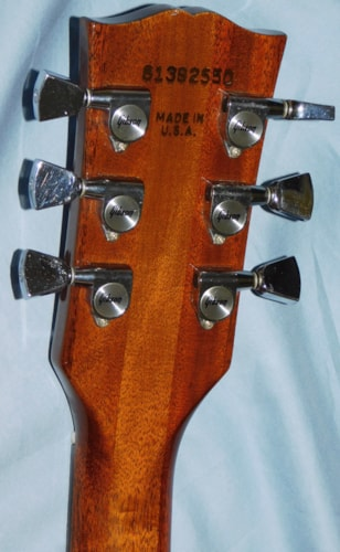 """Gibson Firebrand """"The Paul"""" Deluxe Vintage 1982 Walnut HSC"""