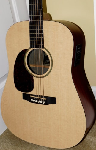 Martin DXME L Dreadnought Acoustic Electric Left-Handed 2010 USA Made Lefty w/ Soft Case
