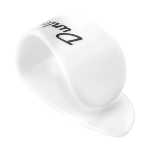 Dunlop Thumbpick Plastic White Extra Large Player Pack (4)