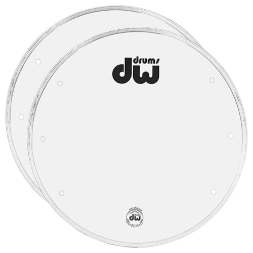 """DW 22"""" Smooth Vented Head White (2 Pack Bundle)"""