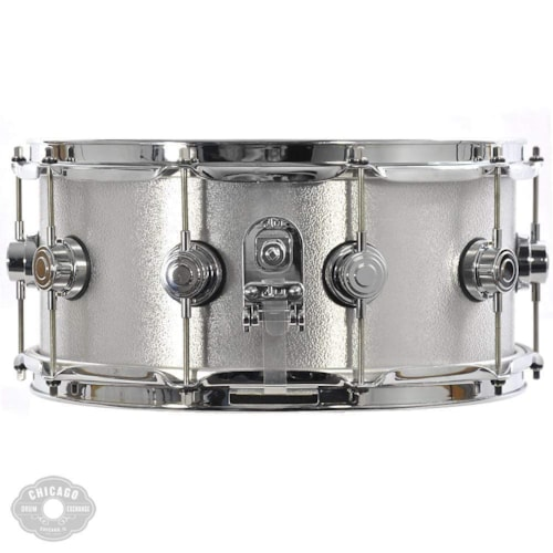 DW 6.5x14 3mm Wrinkle Coat Rolled Aluminum Snare Drum
