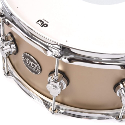 DW 6.5x14 Performance Series Snare Drum Gold Mist Hard Satin Lacquer
