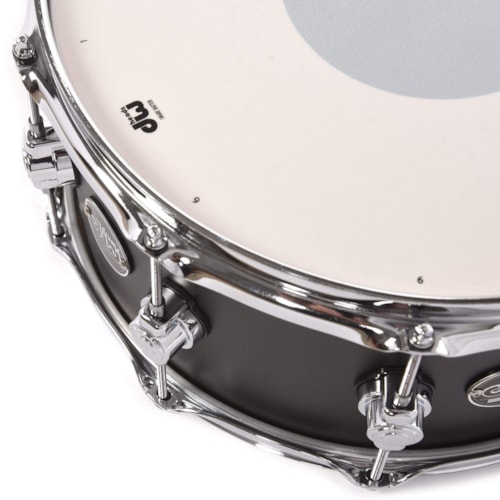 DW 6.5x14 Performance Series Snare Drum Charcoal Metallic Hard Satin Lacquer