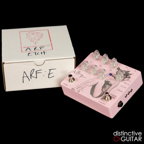 Dwarfcraft ARF - Attack, Filter, Release - Custom Etched Pink, Brand New