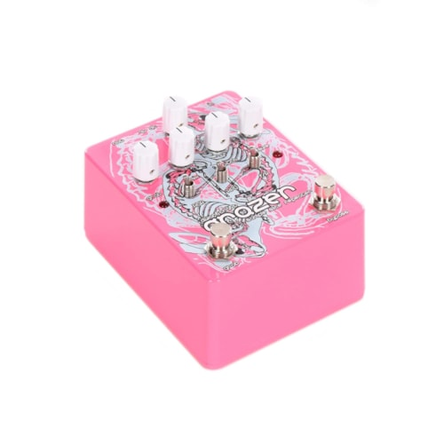 Dwarfcraft Devices Grazer Granular Repeater and Glitch Pedal Pink