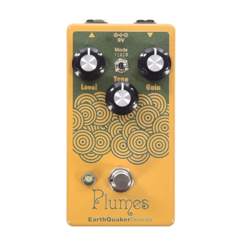 Earthquaker Devices Plumes Small Signal Shredder Yellow & Green