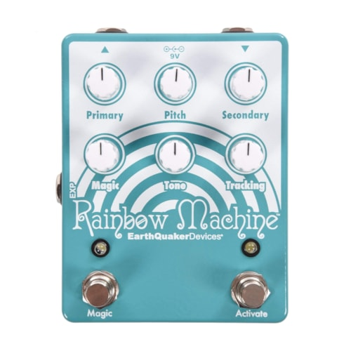 Earthquaker Devices Rainbow Machine v2 Polyphonic Pitch Mesmerizer Teal & White