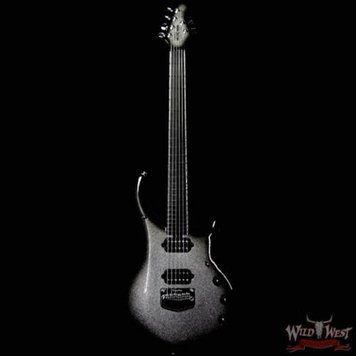 2019 Ernie Ball Music Man BFR Limited #89 of 120 Majesty Charred Silver Sparkle Burst