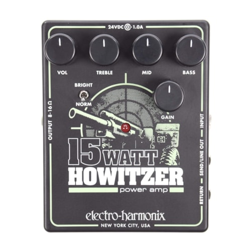 Electro-Harmonix 15W Howitzer Ultra-Compact Guitar Amp & Preamp