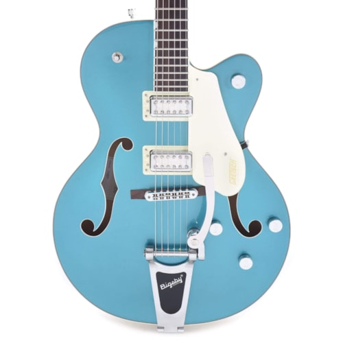 """Gretsch G5410T Limited Edition Electromatic """"Tri-Five"""" Hollow Body Single-Cut Two-Tone Ocean Turquoise/Vintage White w/Bigsby"""