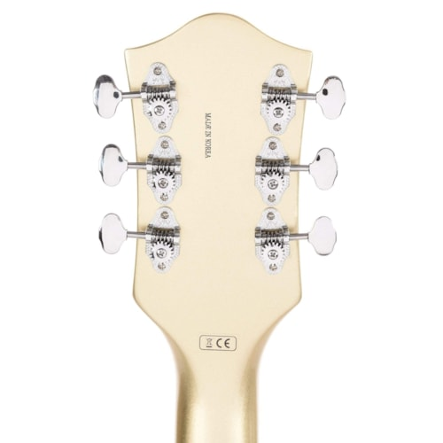 """Gretsch G5410T Limited Edition Electromatic """"Tri-Five"""" Hollow Body Single-Cut Two-Tone Vintage White/Casino Gold w/Bigsby"""