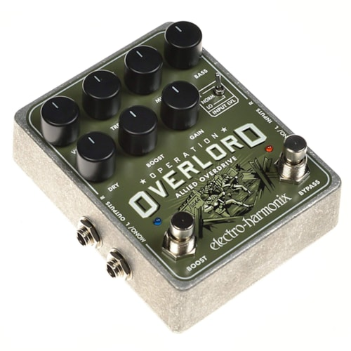 Electro-Harmonix Operation Overlord Stereo Overdrive Distortion