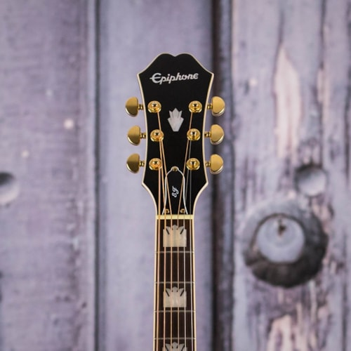 Used Epiphone EJ-200SCE Acoustic/Electric, Black