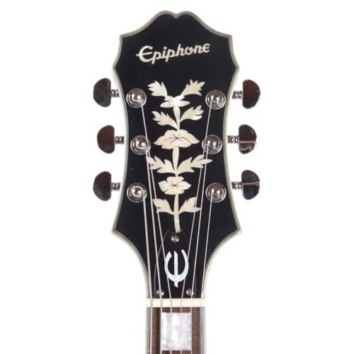 Epiphone Emperor Swingster Black Aged Gloss w/Bigsby