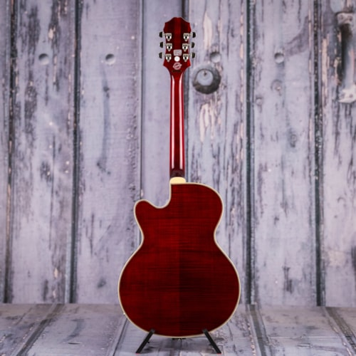 Used Epiphone Emperor Swingster Hollowbody, Wine Red