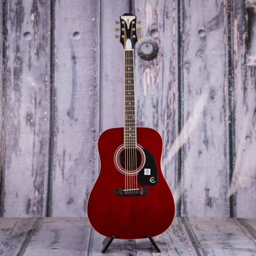 Epiphone PRO-1 Dreadnought, Wine Red