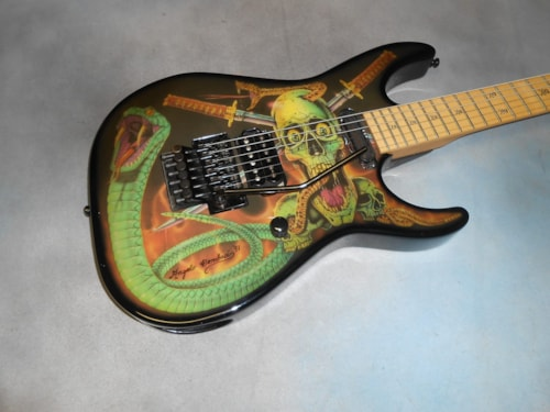~1990 ESP George Lynch Skull & Snakes