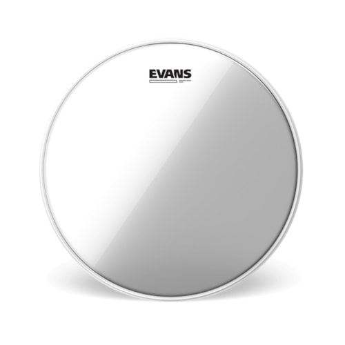 """Evans 14"""" Clear 500 Snare Side Drumhead"""