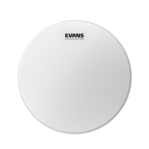 """Evans 14"""" G12 Coated White Drumhead"""