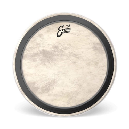 """Evans 16"""" EMAD Calftone Bass Drumhead"""