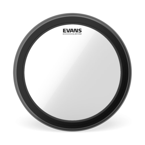"""Evans 16"""" EMAD Clear Bass Drumhead"""