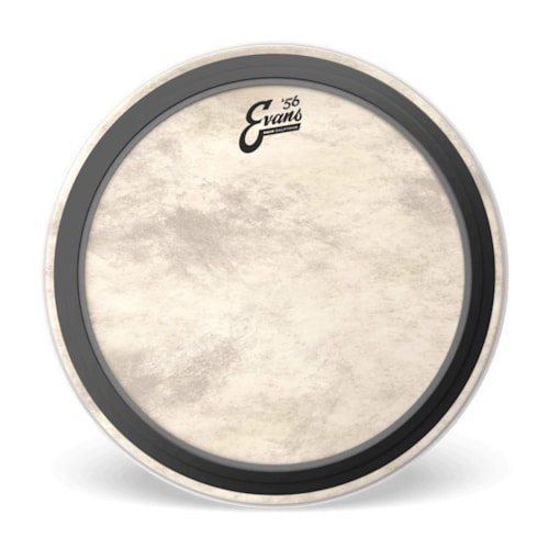 """Evans 18"""" EMAD Calftone Bass Drumhead"""