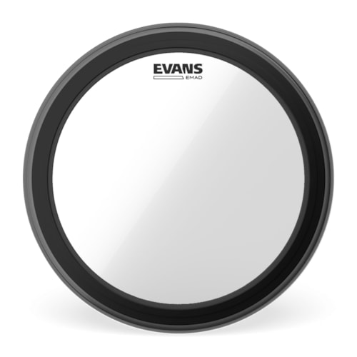 """Evans 20"""" EMAD Clear Bass Drumhead"""