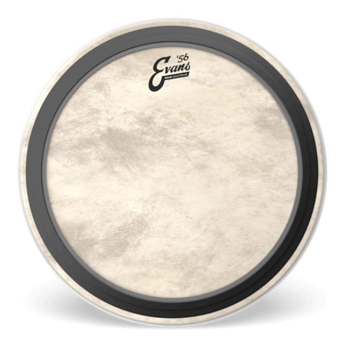 """Evans 22"""" EMAD Calftone Bass Drumhead"""
