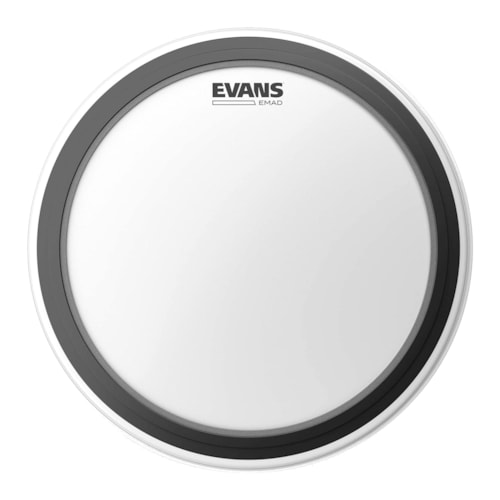 """Evans 22"""" EMAD Coated Bass Drumhead"""