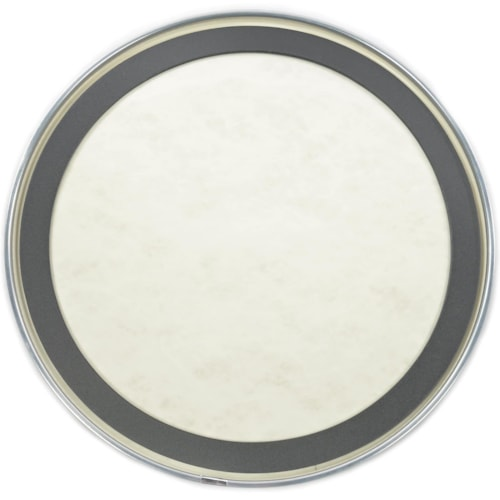 """Evans 24"""" EMAD Calftone Bass Drumhead"""
