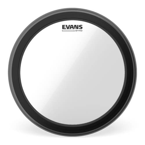 """Evans 24"""" EMAD Clear Bass Drumhead"""