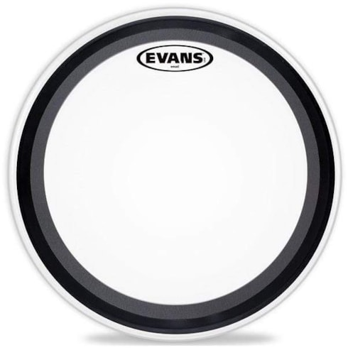 """Evans 24"""" EMAD Coated Bass Drumhead"""