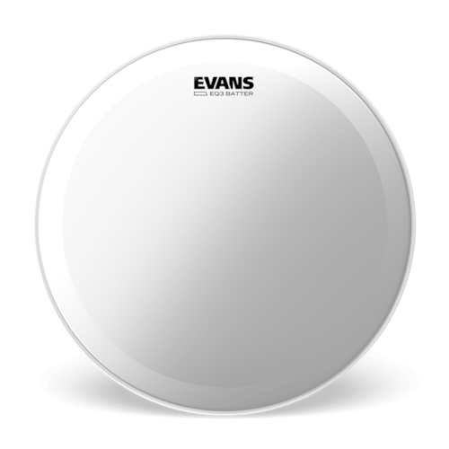 """Evans 18"""" EQ3 Coated Batter Bass Drumhead"""