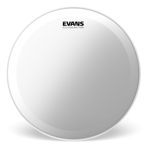 """Evans 22"""" EQ3 Coated Batter Bass Drumhead"""
