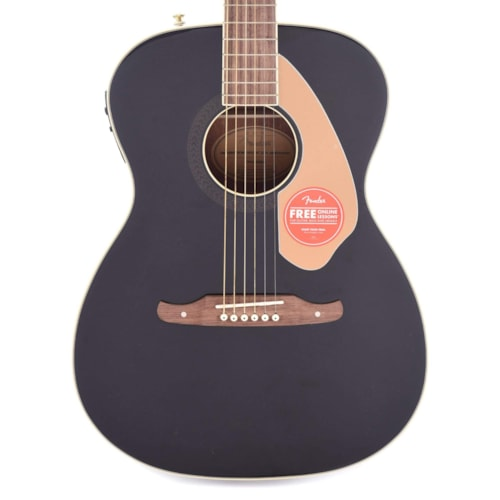 Fender 10th Anniversary Tim Armstrong Hellcat Acoustic Black