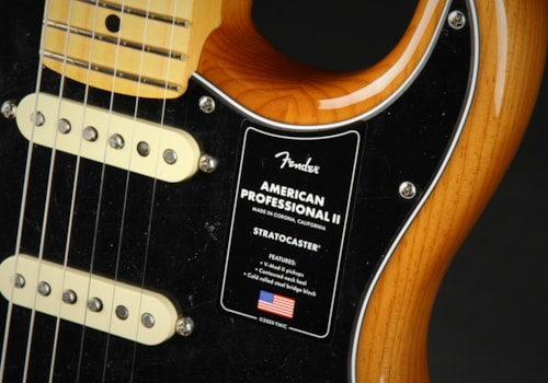 Fender American Professional II Stratocaster, Maple - Roasted Pine