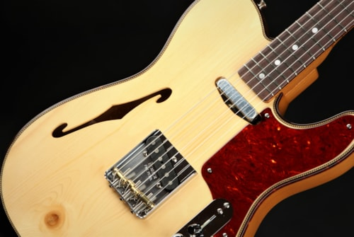 Fender Custom Shop Limited Edition Knotty Pine Telecaster Thinline - Aged Natural/B Stock