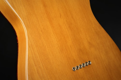 Fender Custom Shop Limited Edition Knotty Pine Telecaster Thinline - Aged Natural