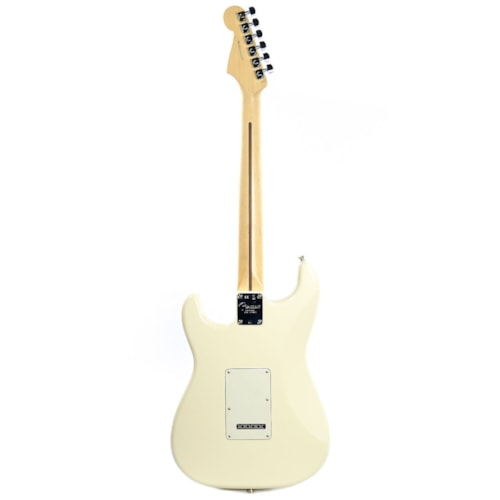 Fender American Pro Stratocaster RW Olympic White w/Parchment Pickguard & Hardshell Case