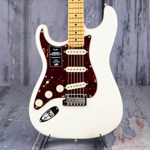 Fender American Professional II Stratocaster Left-Handed, Olympic White