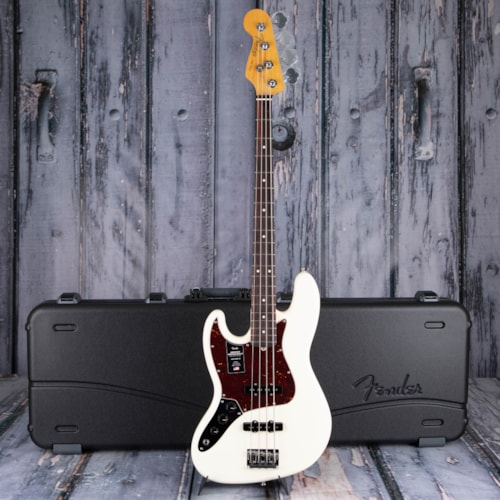 Fender American Professional II Jazz Bass Left-Handed, Olympic White