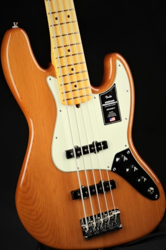 FenderAmerican Professional II Jazz Bass V, Maple Fingerboard - Roasted Pine