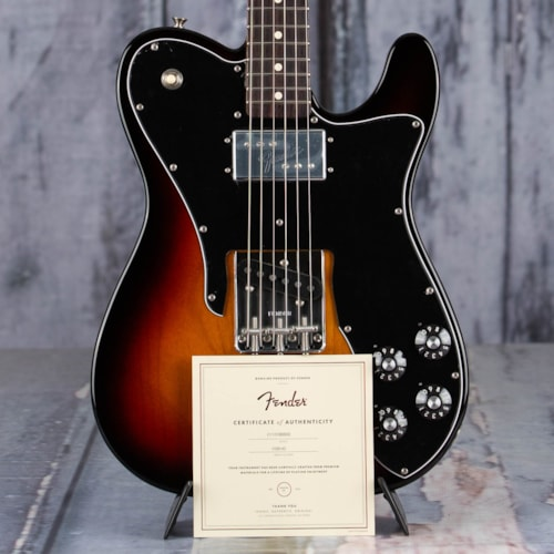 Fender American Original 70s Telecaster Custom, 3-Color Sunburst