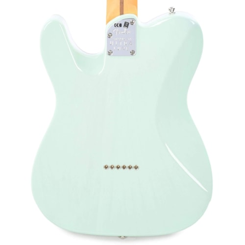 Fender American Ultra Luxe Telecaster Transparent Surf Green