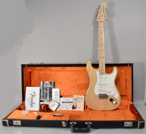 2011 Fender American Vintage '70s Stratocaster Natural Finish Electric Guitar w/OHSC