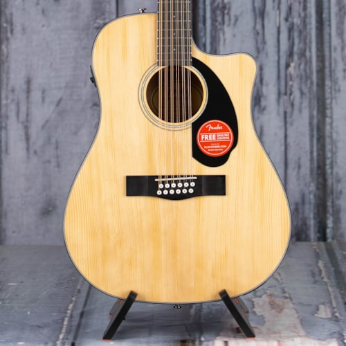 Fender CD-60SCE Dreadnought 12-String Acoustic/Electric, Natural