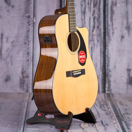 Fender CD-60SCE Dreadnought Acoustic/Electric, Natural