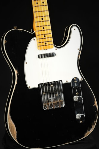 Fender Custom Shop 1965 Telecaster Custom Relic - Aged Black (1965 reissue)