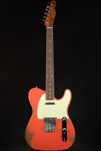 Fender Custom Shop 1963 Telecaster Roasted Heavy Relic - Aged Tahitian Coral (1963 reissue)