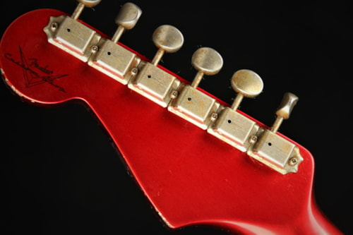 Fender Custom Shop 1961 Stratocaster Heavy Relic - Candy Apple Red  (1961 reissue)